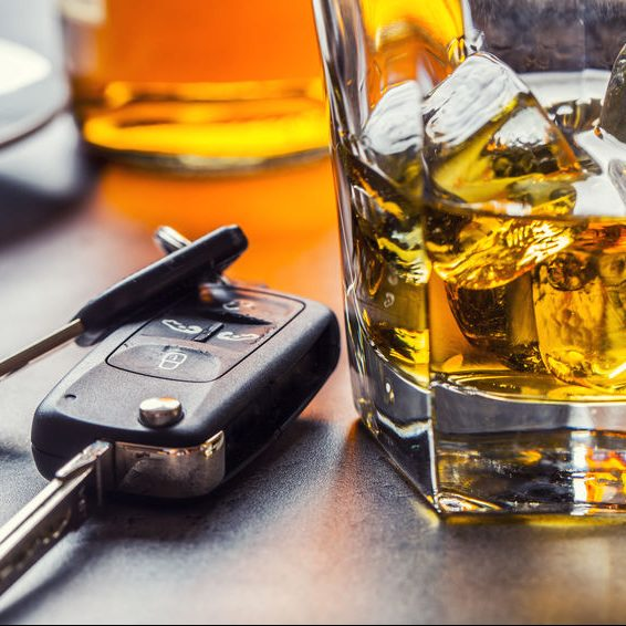 A Drink and Keys can lead to DUI