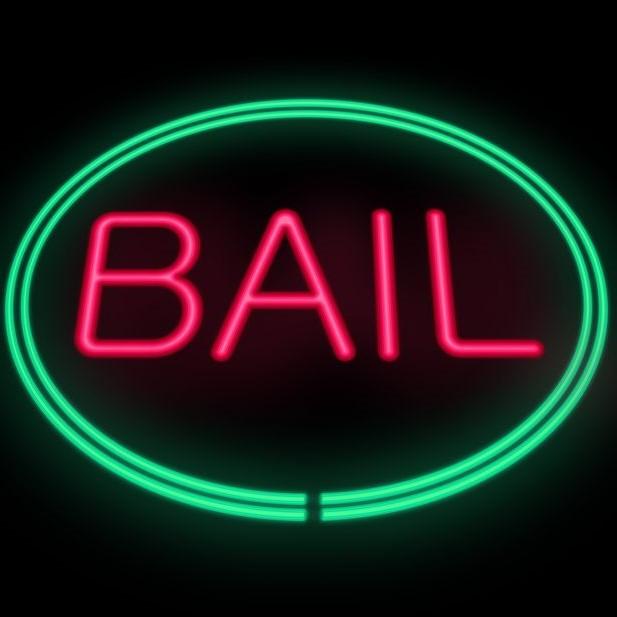 bail signage